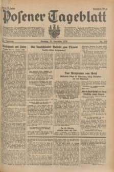 Posener Tageblatt. Jg.73, nr 263 (18 November 1934) + dod.