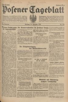 Posener Tageblatt. Jg.73, nr 264 (20 November 1934) + dod.