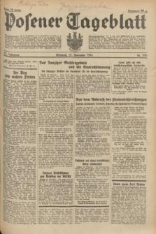 Posener Tageblatt. Jg.73, nr 265 (21 November 1934) + dod.