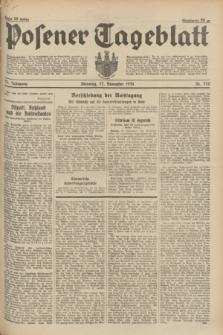 Posener Tageblatt. Jg.73, nr 270 (27 November 1934) + dod.
