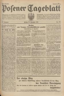 Posener Tageblatt. Jg.73, nr 273 (30 November 1934) + dod.