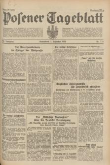 Posener Tageblatt. Jg.73, nr 274 (1 Dezember 1934) + dod.