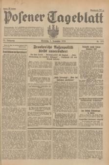 Posener Tageblatt. Jg.73, nr 275 (2 Dezember 1934) + dod.
