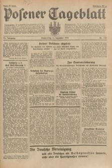 Posener Tageblatt. Jg.73, nr 278 (6 Dezember 1934) + dod.