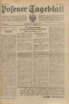Posener Tageblatt. Jg.73, nr 280 (8 Dezember 1934) + dod.