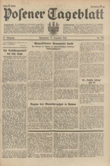 Posener Tageblatt. Jg.73, nr 285 (15 Dezember 1934) + dod.