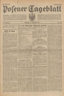Posener Tageblatt. Jg.73, nr 292 (23 Dezember 1934) + dod.