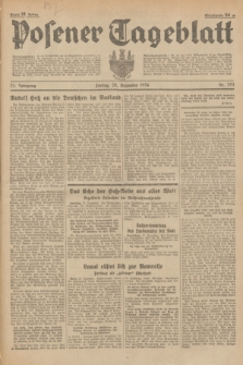 Posener Tageblatt. Jg.73, nr 294 (28 Dezember 1934) + dod.