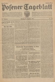 Posener Tageblatt. Jg.73, nr 296 (30 Dezember 1934) + dod.