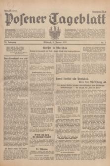 Posener Tageblatt. Jg.74, Nr. 7 (9 Januar 1935) + dod.