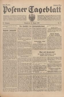 Posener Tageblatt. Jg.74, Nr. 22 (26 Januar 1935) + dod.