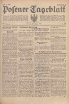 Posener Tageblatt. Jg.74, Nr. 24 (29 Januar 1935) + dod.