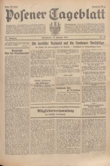 Posener Tageblatt. Jg.74, Nr. 39 (16 Februar 1935) + dod.