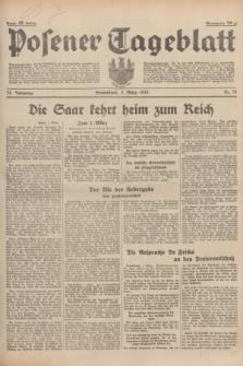 Posener Tageblatt. Jg.74, nr 51 (2 März 1935) + dod.