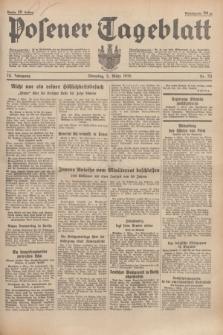 Posener Tageblatt. Jg.74, nr 53 (5 März 1935) + dod.
