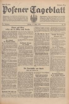 Posener Tageblatt. Jg.74, Nr. 62 (15 März 1935) + dod.