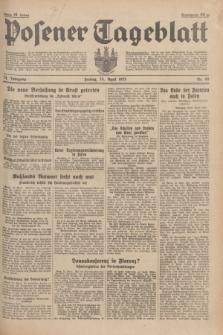 Posener Tageblatt. Jg.74, nr 96 (26 April 1935) + dod.