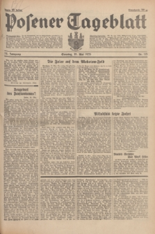 Posener Tageblatt. Jg.74, Nr. 115 (19 Mai 1935) + dod.