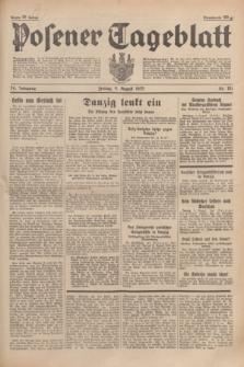 Posener Tageblatt. Jg.74, Nr. 181 (9 August 1935) + dod.