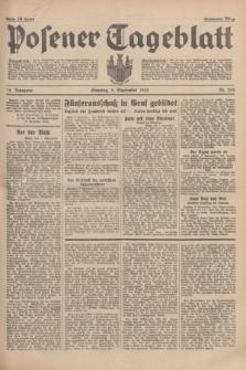 Posener Tageblatt. Jg.74, Nr. 206 (8 September 1935) + dod.