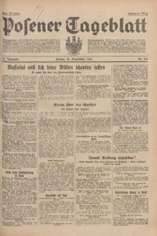 Posener Tageblatt. Jg.74, Nr. 216 (20 September 1935) + dod.