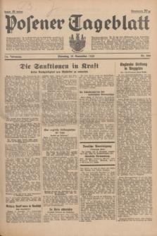 Posener Tageblatt. Jg.74, Nr. 266 (19 November 1935) + dod.