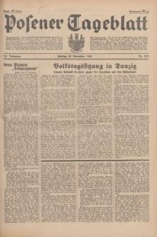 Posener Tageblatt. Jg.74, Nr. 275 (29 November 1935) + dod.
