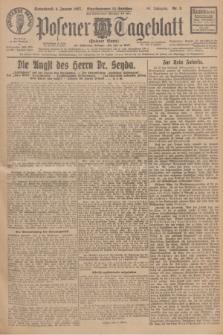 Posener Tageblatt (Posener Warte). Jg.66, Nr. 5 (8 Januar 1927) + dod.