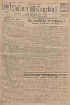 Posener Tageblatt (Posener Warte). Jg.66, Nr. 13 (18 Januar 1927) + dod.