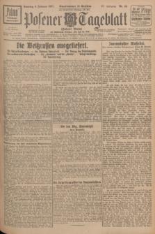 Posener Tageblatt (Posener Warte). Jg.66, Nr. 29 (6 Februar 1927) + dod.