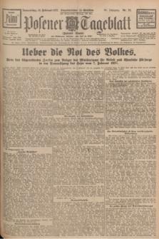 Posener Tageblatt (Posener Warte). Jg.66, Nr. 32 (10 Februar 1927) + dod.
