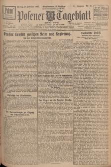 Posener Tageblatt (Posener Warte). Jg.66, Nr. 45 (25 Februar 1927) + dod.