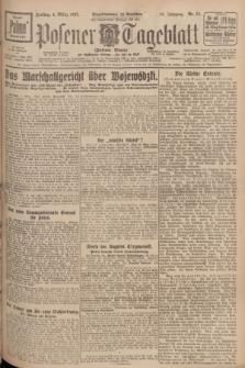 Posener Tageblatt (Posener Warte). Jg.66, Nr. 51 (4 März 1927) + dod.