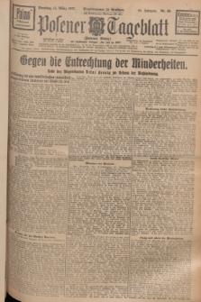 Posener Tageblatt (Posener Warte). Jg.66, Nr. 60 (15 März 1927) + dod.