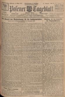 Posener Tageblatt (Posener Warte). Jg.66, Nr. 61 (16 März 1927) + dod.