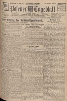 Posener Tageblatt (Posener Warte). Jg.66, Nr. 62 (17 März 1927) + dod.