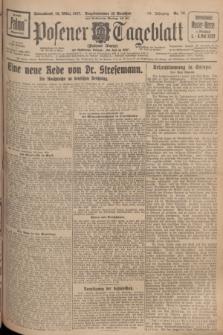 Posener Tageblatt (Posener Warte). Jg.66, Nr. 70 (26 März 1927) + dod.