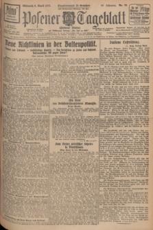 Posener Tageblatt (Posener Warte). Jg.66, Nr. 79 (6 April 1927) + dod.