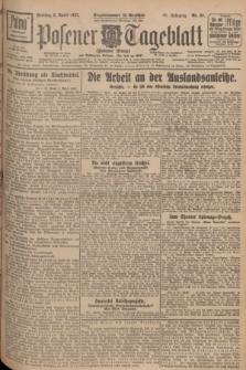Posener Tageblatt (Posener Warte). Jg.66, Nr. 81 (8 April 1927) + dod.