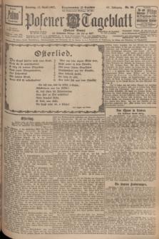 Posener Tageblatt (Posener Warte). Jg.66, Nr. 88 (17 April 1927) + dod.