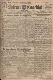 Posener Tageblatt (Posener Warte). Jg.66, Nr. 91 (22 April 1927) + dod.