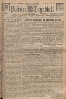 Posener Tageblatt (Posener Warte). Jg.66, Nr. 113 (19 Mai 1927) + dod.