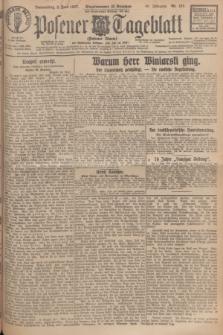 Posener Tageblatt (Posener Warte). Jg.66, Nr. 124 (2 Juni 1927) + dod.