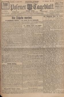 Posener Tageblatt (Posener Warte). Jg.66, Nr. 132 (12 Juni 1927) + dod.