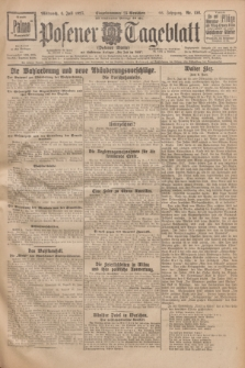 Posener Tageblatt (Posener Warte). Jg.66, Nr. 150 (6 Juli 1927) + dod.