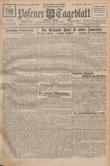 Posener Tageblatt (Posener Warte). Jg.66, Nr. 151 (7 Juli 1927) + dod.
