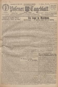 Posener Tageblatt (Posener Warte). Jg.66, Nr. 159 (16 Juli 1927) + dod.