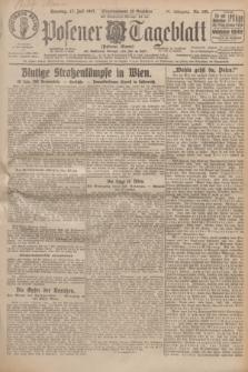 Posener Tageblatt (Posener Warte). Jg.66, Nr. 160 (17 Juli 1927) + dod.