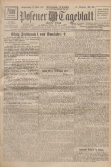 Posener Tageblatt (Posener Warte). Jg.66, Nr. 163 (21 Juli 1927) + dod.