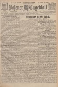 Posener Tageblatt (Posener Warte). Jg.66, Nr. 166 (24 Juli 1927) + dod.